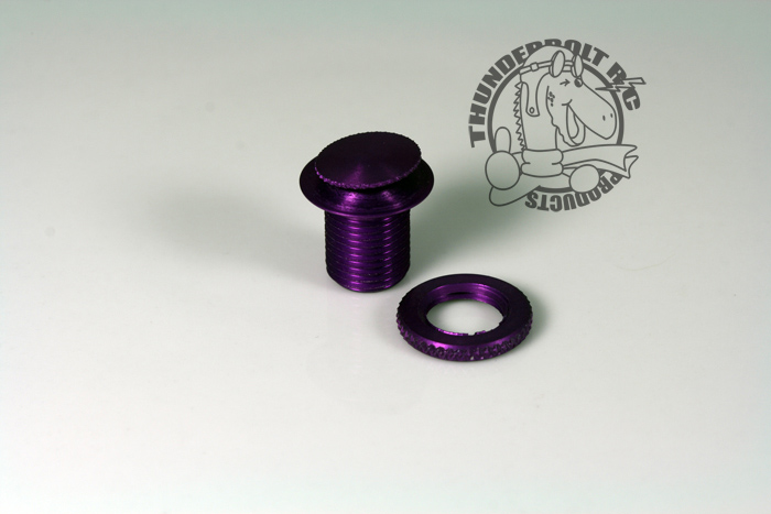 "Large (1/8"" Fuel line) Fuel Dot - Purple (GAS)"