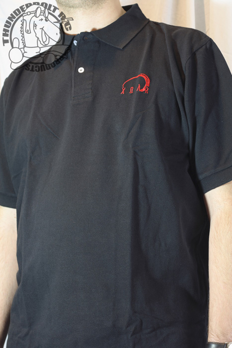 Xoar Polo Golf Shirt - BLACK