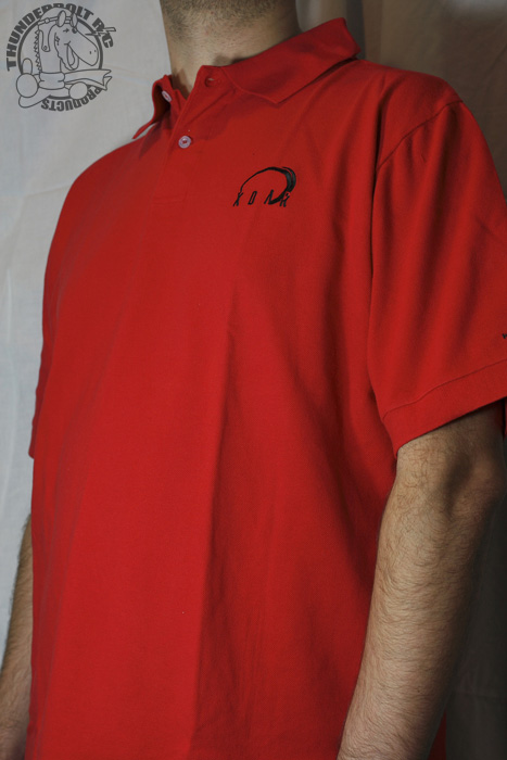 Xoar Polo Golf Shirt - RED