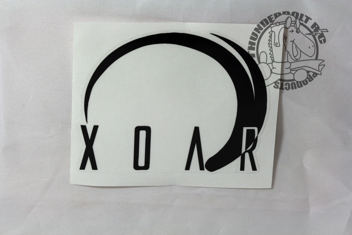"Xoar Vinyl Decal Large (3"" Square)"